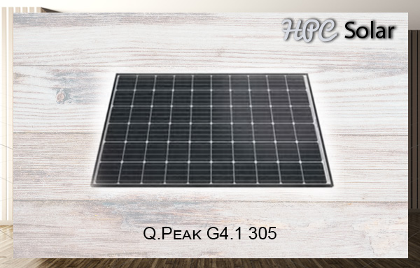 Q.PEAK Series PV Modules by Hanwha Q-Cells