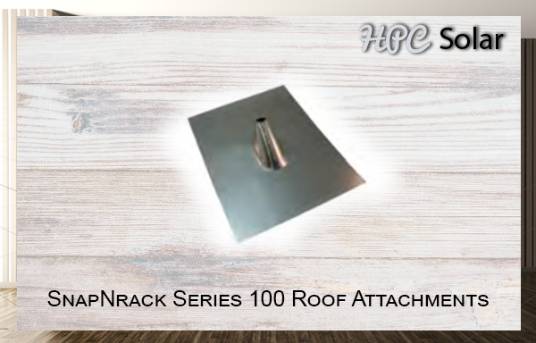 SnapNrack Series 100 Roof Attachments